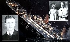 A Titanic family feud: The mother and child disowned by in-laws after death of ship's hero violinist #DailyMail