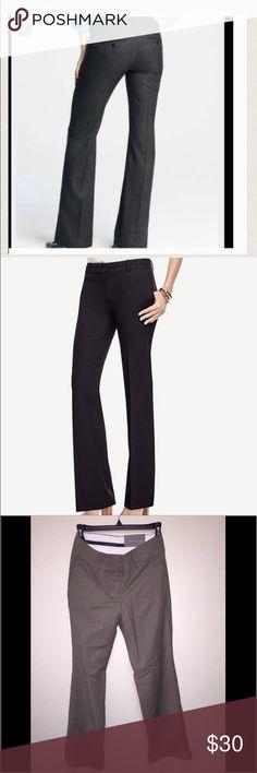 Ann Taylor signature fit pants 0P Petite 0 brownish gray Ann Taylor Pants Boot Cut & Flare