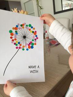 origami wall art for kids - Diy For Kids, Crafts For Kids, Arts And Crafts, Craft Activities For Kids, Preschool Crafts, Origami Art Mural, Fingerprint Art, Art Diy, Kindergarten Art