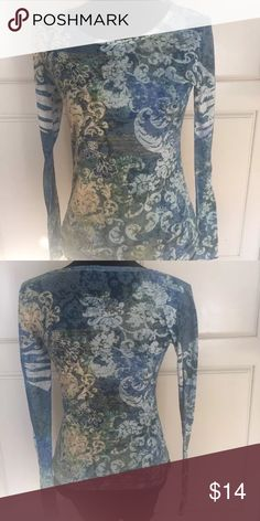 The Balance Collection by Marika soft too Featherweight collection floral top.  EUC has  lots of life left!!! marika  Tops Tees - Long Sleeve