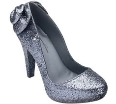 glitter heels. Melissa Loves by Alessandra Ambrosio...coming soon!