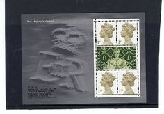 UK STAMP MINT NH ELIZABETH 11 MINI SHEET SHOW 2000 LONDON MS2147 SCOTT 1942