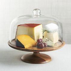 Carson Acacia Wood Cake Pedestal |