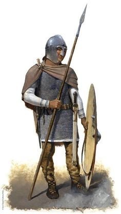 Late Roman Comitatensian Infantryman, 451 AD (306) , from a recent issue of Desperta Ferro Magazine.