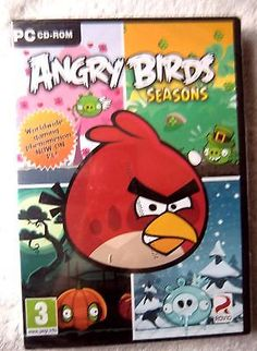 #40524 pc game - angry birds seasons [new & #sealed] - #(2012) windows 7 ess947,  View more on the LINK: 	http://www.zeppy.io/product/gb/2/282250905321/