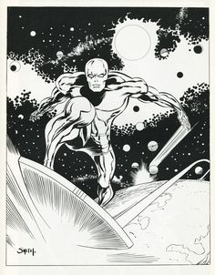 Barry Windsor Smith's Silver Surfer