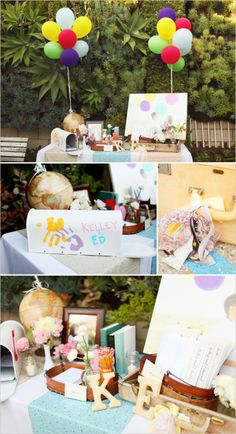Disney Up Pixar theme Trendy Wedding, Our Wedding, Dream Wedding, Wedding Gifts, Movie Wedding, Wedding Week, 1920s Wedding, Party Wedding, Spring Wedding