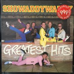 A personal favourite from my Etsy shop https://www.etsy.com/uk/listing/514328227/showaddywaddy-greatest-hits-original