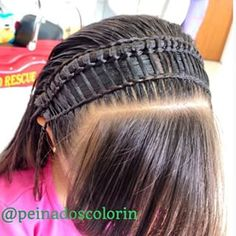 peinadoscolorin's Instagram posts | Pinsta.me - Instagram Online Viewer Girl Haircuts, Little Girl Hairstyles, Toddler Hair, Hair Art, Braided Hairstyles, Little Girls, Braids, Dreadlocks, Hair Styles