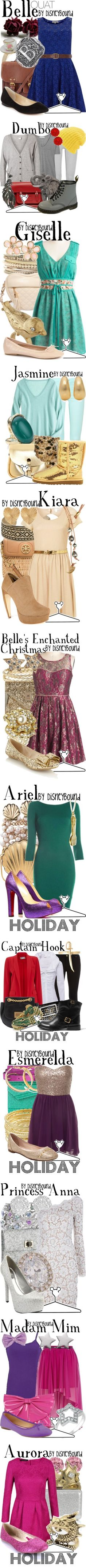 """Disney Fashions"" by carlakay ❤ liked on Polyvore"