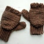 Crochet Gloves. Free Pattern