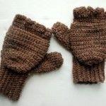 Crochet Gloves. Free Pattern