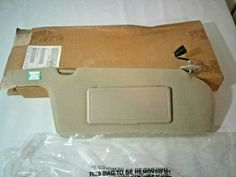 OEM Mazda GA2P-69-270E-80 Right Sun Visor NOS, We Sell It All Online Auto Parts Store, Mirror With Lights, Mazda, Light Up, Oem