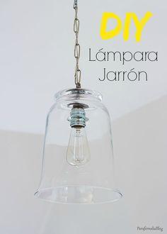 Vuelvo al ataque con las lámparas. Si, lo se, estoy obsesionada. Pero es que no se que tienen las lámparas que me encantan. Son un objeto de decoración que me chifla. En Pinterest tengo un tablón s...