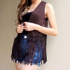 colete-franjas-marrom-lindo-suede-comprar-moda-2016