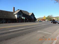Amtrak station in Flagstaff, Arizona