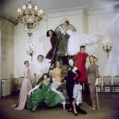 Christian Dior vintage shoot