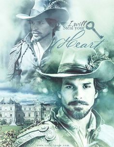 Aramis - Santiago Cabrera, in the BBC Series, The Musketeers. He has such a great and sad story-arc with Queen Anne