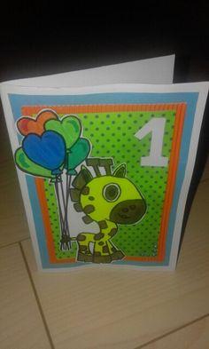 Kartka na roczek