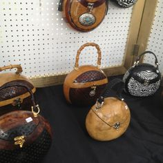 Handmade Gourd Purses