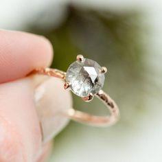 1.80ct Rosecut Silver Grey ...