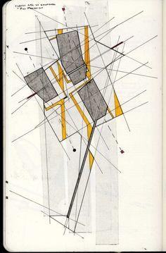 Innocent By Design Conceptual Sketches, Abstract Sketches, Architecture Drawings, Concept Architecture, Deconstructivism, Concept Diagram, Sketch Design, Map Art, Fort Santiago