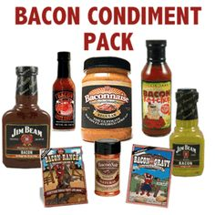OUR MOST POPULAR BACON CONDIMENTS IN ONE DELICIOUS SET!
