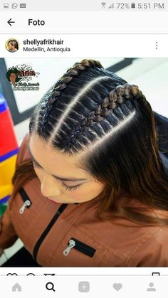Natural Hair Styles natural hair twist styles for short hair Baddie Hairstyles, Box Braids Hairstyles, Twist Hairstyles, Hairstyle Ideas, Cute Hairstyles For Teens, Teenage Hairstyles, Fashion Hairstyles, Creative Hairstyles, Beautiful Hairstyles