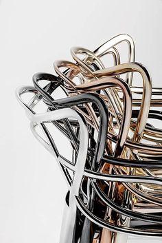 Kartell Masters chair, in metal