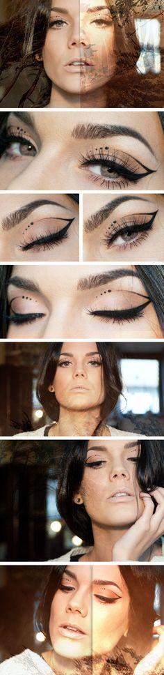 Makeup Inspiration by Linda Hallberg #lindahallberg #makeup #inspiration