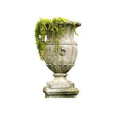"""30"""" Appian Vessel Cathedral White Outdoor Urns Planters & Jardinieres ($195) ❤ liked on Polyvore featuring home, outdoors, outdoor decor, plants, flowers, outdoor, cathedral white, white urn, flower urns and outdoor patio decor"""