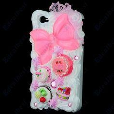 $10.69 Dessert iphone 4 4s cases 3D Ice Cream Cake Novelty Apple iPhone Covers  Edealbest.com
