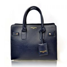 Office PU Leather and Rivets Design Women's Tote Bag, DEEP BLUE in Tote Bags | DressLily.com
