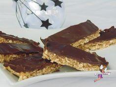 Barres de céréales au chocolat. Recette de cuisine ou sujet sur Yumelise blog culinaire. Que dire d'une gourmandise légère, saine et si savoureuse ? Un succès chez moi par son croquant, sa finesse et un goût à tomber !!!