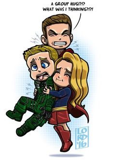 DC crossover 'Invasion!'  Flash, Arrow, SuperGirl and LOT
