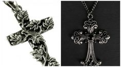"Inserendo il codice coupon gothbijoux fino al 30/04 lo potete acquistare con il 20% di sconto fino ad esaurimento scorte!!! www.gothlab.com - Your gothic desire! Gothic Black Cross pendant on a chain and Pendente ""Floreal Cross"" ‪#‎gotico‬ ‪#‎gothic‬ ‪#‎goth‬ ‪#‎pendenti‬ ‪#‎chain‬ ‪#‎neckless‬ ‪#‎style‬ ‪#‎wicca‬ ‪#‎witch‬ ‪#‎strega‬ ‪#‎vampire‬ ‪#‎power‬ ‪#‎pell‬ ‪#‎demon‬ ‪#‎incantesimi‬ ‪#‎magic‬ ‪#‎magia‬ ‪#‎old‬ ‪#‎florea‬ ‪#‎black‬ ‪#‎dark‬ ‪#‎cross‬ ‪#‎croce‬ ‪#‎collane‬"