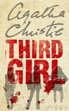 Third Girl. Agatha Christie - reading this one just now