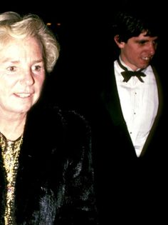 Ethel Kennedy and son Michael Kennedy
