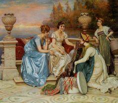 Итальянский художник Frederic Soulacroix (1858 - 1933)