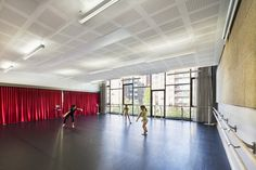 Basalt Architecture, Claude Debussy Conservatory, Paris, France