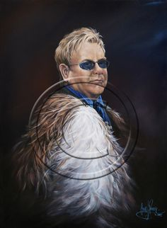 Sir Elton John Auckland New Zealand, Contemporary Artists, Gallery, Painting, Fictional Characters, Roof Rack, Painting Art, Paintings, Paint