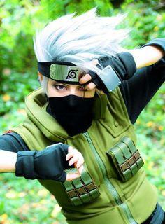 Kakashi Hataka ( Naruto Cosplay).