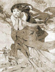 Alphonse Mucha (1860-1939) - Novem