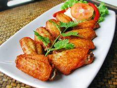 วิธีทำ ปีกไก่ทอดเกลือ สูตรอาหาร ปีกไก่ทอดเกลือ