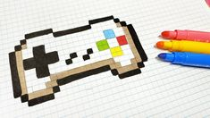 Handmade Pixel Art - How To Draw a command of super famicom Minecraft Pattern, Pixel Pattern, Minecraft Pixel Art, Pattern Art, Funny Pixel Art, Cool Pixel Art, Graph Paper Drawings, Graph Paper Art, Art Drawings