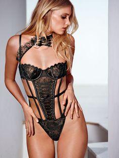 Halter Teddy - The Victoria's Secret Designer Collection - Victoria's Secret