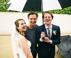 "Tony Goldwyn Crashes Wedding Party, Makes Bride's ""World Complete"" - Us Weekly"