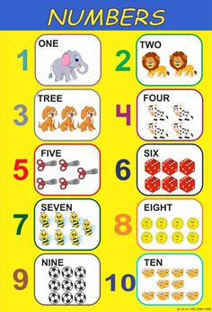 English Activities For Kids, Kids Learning Activities, Math For Kids, Toddler Learning, Numbers Preschool, Preschool Printables, Preschool Learning, Kindergarten Math, Teaching Phonics