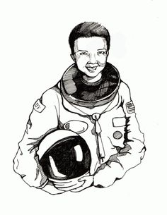1000 images about drawings on pinterest how to draw for Mae jemison coloring page