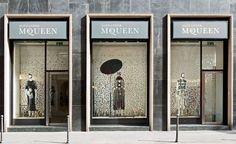 Blossom rain: Studio Wieki Somers and Kvadrat add a touch of magic realism to Alexander McQueen | Design | Wallpaper* Magazine